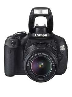 Canon EOS 600D Kit mit 18-55 mm IS II + Canon EF 40mm f/2.8 STM für  ~502 € @Amazon.co.uk