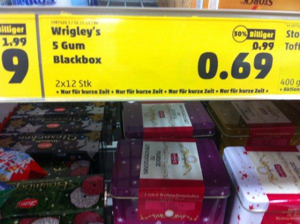 [Penny bundesweit?] 5Gum 2 Packungen + Gratis Blackbox für 0,69€