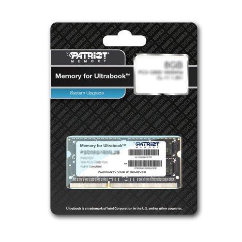 "Patriot™ - 4GB DDR3 Notebook/Ultrabook Speichermodul ""PSD34G1600L2S"" (1600Mhz./CL11/1.35-1.5V) für €26,04 [@Amazon.co.uk]"