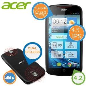 Acer Liquid E2 DUO Quad - Core-Smartphone mit Dual-SIM