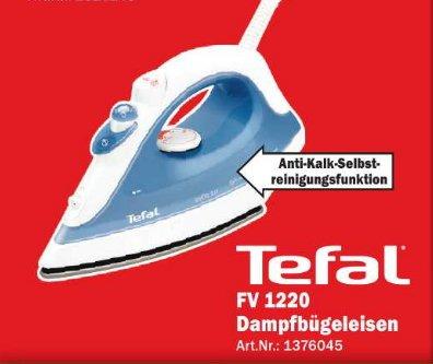 [MM Bonn] Tefal FV 1220 Dampfbügeleisen Inicio Dunkelblau 11€