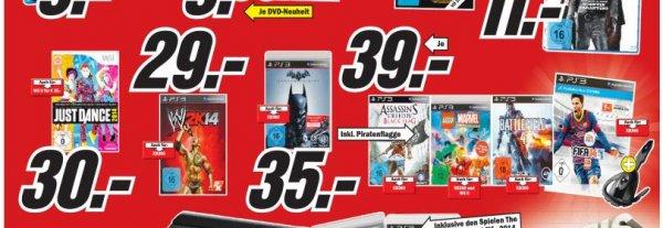 ( PS3 & XBOX360 ) Battlefield 4 / FIFA 14 für 39 Euro - BluRays ab 5,90 € ( LOKAL BONN MEDIA MARKT )