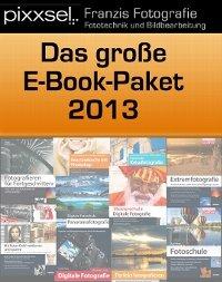 10 Ebooks zum Thema (DSLR)-Fotografie als Bundle 30,- € statt 174,91 € 83% billiger