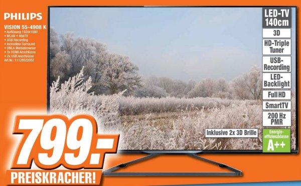 Philips TV PFL55-4908K 799€ [Lokal Expert Bad Honnef]
