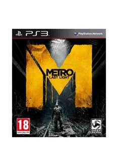 Sony PS3 – Metro: Last Light für €18,34 [@Base.com]