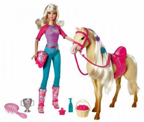 Mattel™ - Barbie Reiterin mit Pferd Tawny (8-tlg.Set) ab €18,31 [@Galeria-Kaufhof.de]
