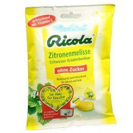 zum mitbestellen bei apo-discounter: Ricola o.Z. Zitronenmelisse Bonbons (75 g)