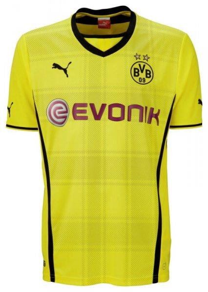 BVB Trikot 2013-2014:  Damen 49,00€ (Home/Away) und Herren 56,25€ (Home/Away/Champions League) mit Gutscheincode @ Puma Online-Shop