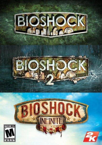 [STEAM] Bioshock Triple Pack @amazon.com (Bioshock 1 & Bioshock 2 & Bioshock Infinite)