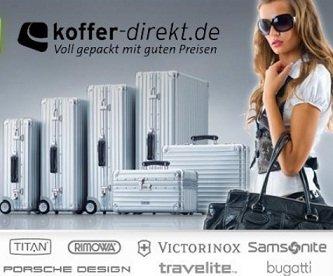 12 % bei Koffer-direkt! Gilt auch auf Gutscheine -> Rimowa Koffer günstig!