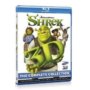 Für alle 3D Junkies :  Shrek 3D Blu-ray-Gesamtedition (Sammler-Edition)