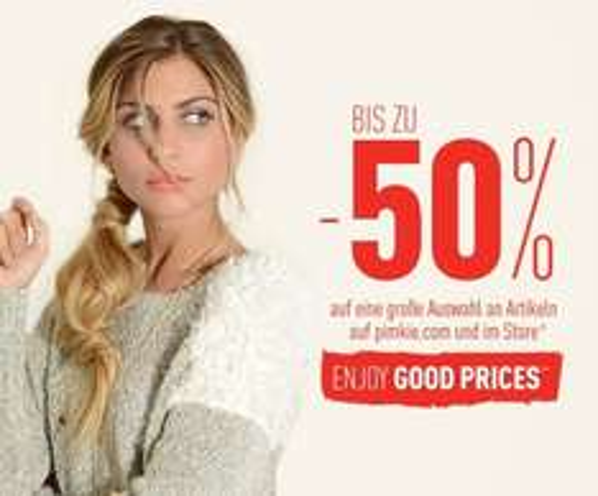 Bis zu -50 % bei Pimkie sparen - Good Prices Aktion