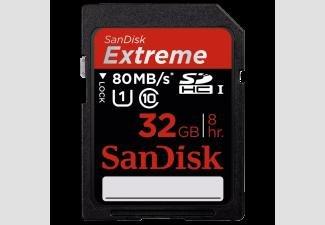 Sandisk 32GB UHC-I (80MB/s) für 29,99€ (momentan nur noch lokal!)