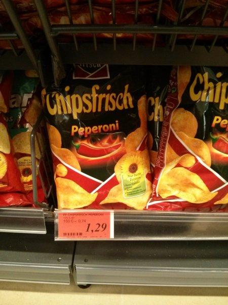 (Lokal) Funny-Frisch 175 Gramm Chips verschiedene Sorten
