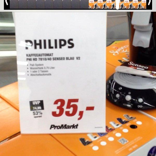 [ProMarkt][lokal?] Senseo 7810/40 für 35€