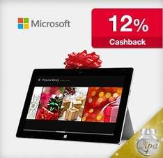 MS Surface Pro 2 / RT -12% durch qipu Cashback