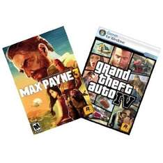 [Amazon.com][Steam] Max Payne 3 und Grand Theft Auto IV Bundle für 7,99$ / 5,91 Euro