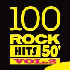 Amazon MP3 Album - 100 Rock Hits 50', Vol. 2 Nur  2,79 € ( vieles von Elvis Presley & Buddy Holly)