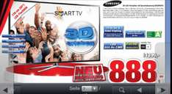 Samsung UE55F6470 888€ Expert Bening