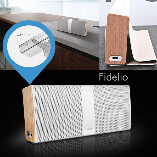 Philips Fidelio P9 Bluetooth Lautsprecher für 106 €