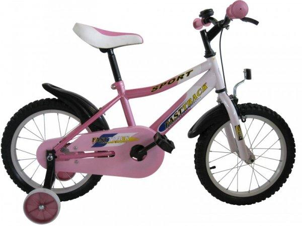 "16"" Zoll Kinderfahrrad Fasttrack pink nur 64€ incl. Versand"