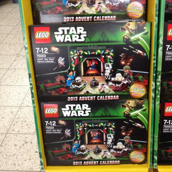 [Lokal Marktkauf Dresden] LEGO Star Wars Adventskalender 50% reduziert!
