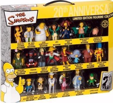 21. Simpson Figuren (Limited Edition) (Figurenset) für 22,49 € statt 52,49 € durch 30 Euro Gutschein