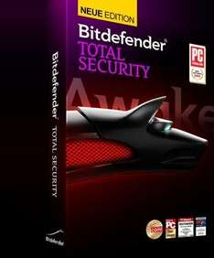 Bitdefender Total Security 2014 Vollversion für 1 Jahr