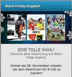 EA-Origin: Black Friday Angebot Votum für den 28.11. (BF Bad Company 2, FIFA 12, SIMS 3)