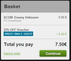 [Steam] XCOM Enemy Unknown bei gmg 7,50€
