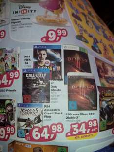PS4 Games bei Toys r Us