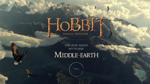 "Hobbit - Smaugs Einöde ""Interaktive Reise durch Mittelerde"" bei Google Chrome-Experiment"