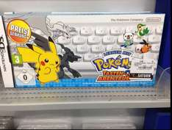 DS: Lernen mit Pokémon: Tasten-Abenteuer ! Inkl. Bluetooth Tastatur !