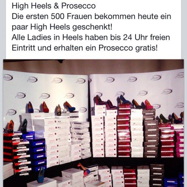 [lokal Schüttorf] 500 Paar Gratis High Heels HEUTE
