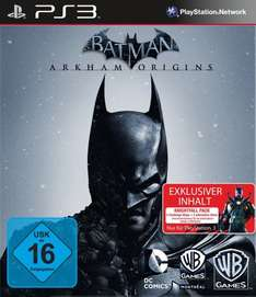Cyber Monday Batman Arkham Origins PS3 inkl. Steelbook bei Amazon