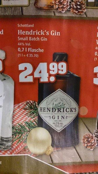 [LOKAL]  Hendrick's Gin 0,7l für  24,99 Bundesweit bei trinkgut