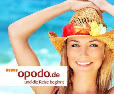 100€ opodo Gutschein für Pauschalreisen für 9,90€