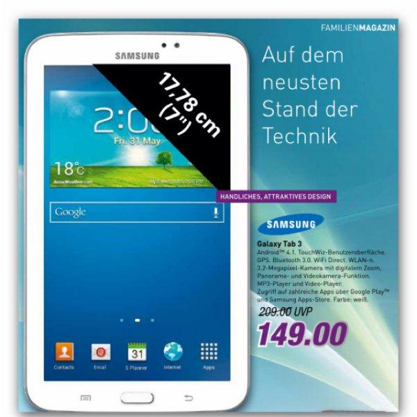 Samsung Galaxy Tab 3.  7,0 Wifi bei Marktkauf