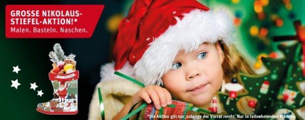 Für Kinder bis 12: Nikolausstiefel kostenlos bei Rewe füllen lassen