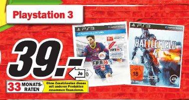 [ MM Porta Westfalica ]   FIFA 14  ,  Battlefield 4 für  PS3 je 39€