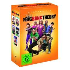 The big Bang Theory 1-5 DVD bei Real für 29,95€ +5€ Gutschein für Staffel 6 @real.de