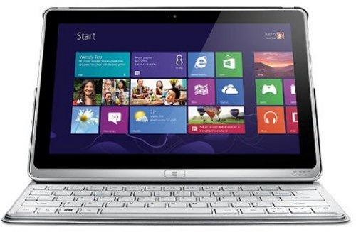 Acer Aspire P3-171-5333Y4G12as 29,5 cm (11,6 Zoll) Convertible Tablet-PC (Intel Core i5-3339Y Prozessor, bis zu 2GHz, 4GB RAM, 120GB SSD, USB 3.0, Intel HD, Touchscreen mit IPS Technologie, Win 8) silber von Acer