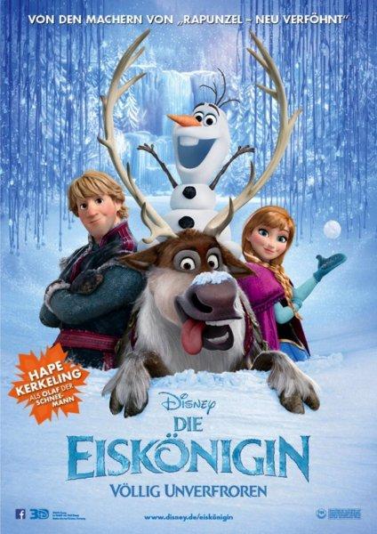 """[lokal Bayern] Komplett kostenlos ins Kino zu """"Die Eiskönigin - Völlig unverfroren 3D"""" am 01.12.2013 15:00 Uhr + BUNDESWEITE Verlosung von 5000 x 2 Freikarten"""