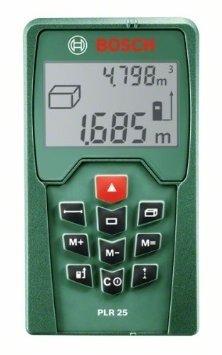 [Amazon Cybermonday] Bosch PLR 25 Laser-Entfernungsmesser + Schutztasche
