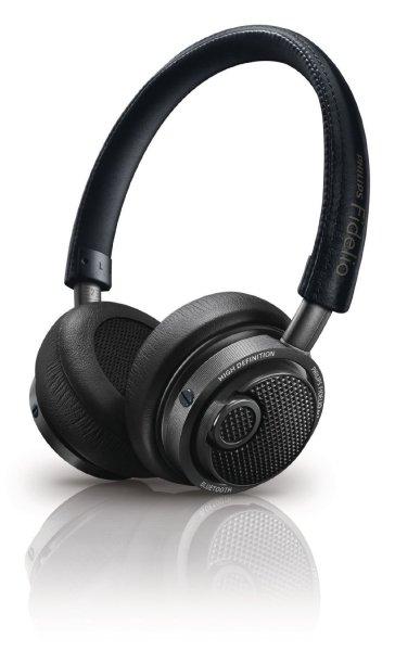 Philips Fidelio M1BTBL/00 Bluetooth On-Ear-Kopfhörer inkl. aptx/ACC für Musik- und Telefonanwendung inkl. Vsk für 158,67 € @amazon.es