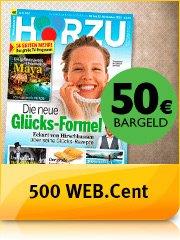 HÖRZU - 26 Hefte für Effektive Auszahlung bei WEB.de