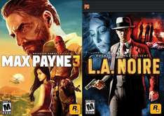 Max Payne 3 + LA NOIRE (Steam) für 6€ @Amazon.com