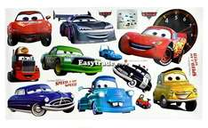 Removable Wall Stickers Cartoon Cars Design Nursery Kids Decals Home Decor ESY1