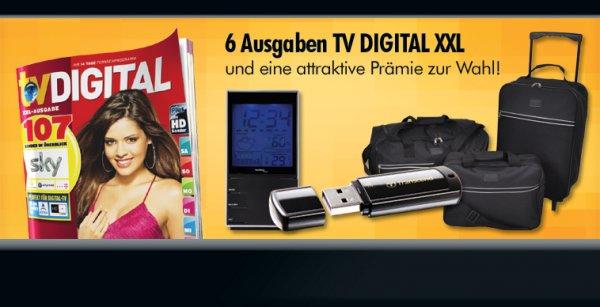 6x TV DIGITAL und Prämie für 7,50€ statt 12,30€