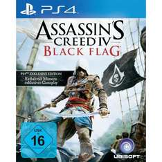 PS4 Assassin´s Creed 4: Black Flag - Bonus Edition für 52,45€ (mit qipu: 49,83€) @ CONRAD.DE